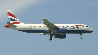 G-TTOD - Airbus A320-232 - British Airways (GB Airways)