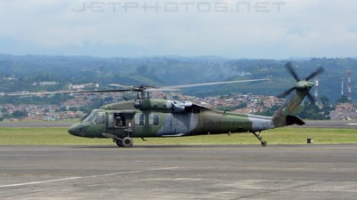 EJC180 - Sikorsky S-70A-28 Blackhawk - Colombia - Army