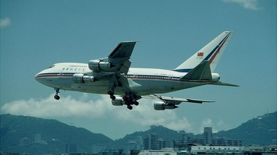 B-1862 - Boeing 747SP-09 - China Airlines