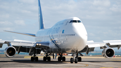 ZK-NBT - Boeing 747-419 - Air New Zealand