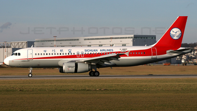 F-WWDP - Airbus A320-232 - Sichuan Airlines