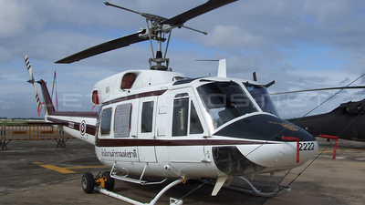 2222 - Bell 212 - Thailand - Royal Thai Police Wing