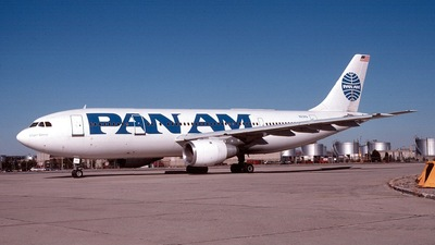N212PA - Airbus A300B4-203 - Pan Am