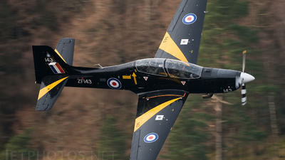 ZF143 - Short Tucano T.1 - United Kingdom - Royal Air Force (RAF)