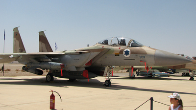 209 - Boeing F-15I Ra'am - Israel - Air Force