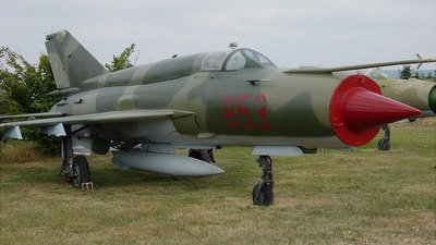 853 - Mikoyan-Gurevich MiG-21bis Fishbed L - Germany - Air Force