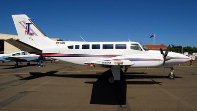 A picture of VHCCN - Cessna 404 - [4040801] - © Brant Leonard