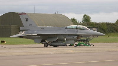 691 - Lockheed Martin F-16D Fighting Falcon - Singapore - Air Force