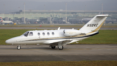 N50VC - Cessna 525 CitationJet 1 - Private