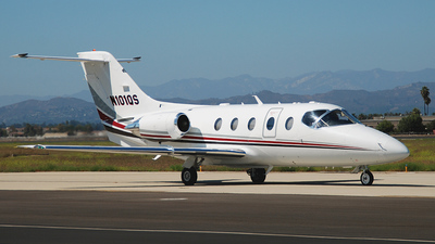 N101QS - Beechcraft 400A Beechjet - Private