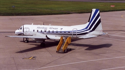 G-AZSU - Hawker Siddeley HS-748 - Aberdeen Airways