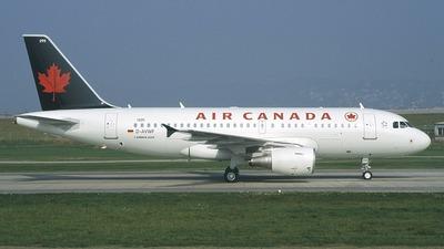 D-AVWF - Airbus A319-112 - Air Canada