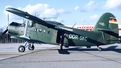 DDR-SKC - Antonov An-2TD - Interflug