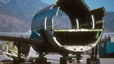 N747PA - Boeing 747-121 - Aeroposta