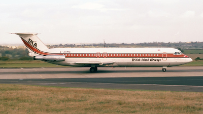 G-AXMG - British Aircraft Corporation BAC 1-11 Series 518FG - British Island Airways