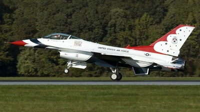 87-0323 - General Dynamics F-16C Fighting Falcon - United States - US Air Force (USAF)
