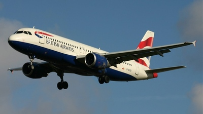 G-BUSI - Airbus A320-211 - British Airways