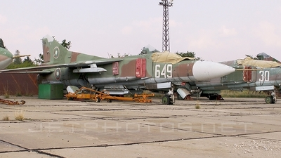 649 - Mikoyan-Gurevich MiG-23MF Flogger B - Bulgaria - Air Force