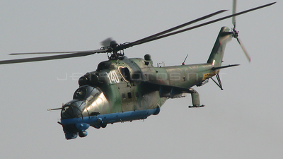 140 - Mil Mi-24V Hind E - Bulgaria - Air Force