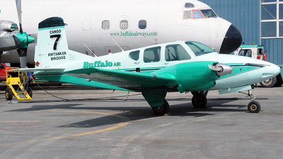 C-GIWJ - Beechcraft 95 Travel Air - Buffalo Airways