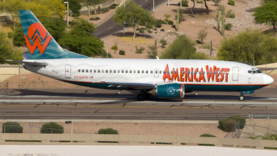 N312AW - Boeing 737-3S3 - America West Airlines