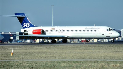 OY-KHI - McDonnell Douglas MD-87 - Scandinavian Airlines (SAS)