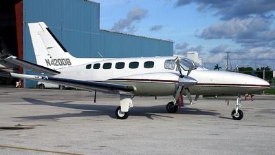 A picture of N420DB - Cessna 441 Conquest - [4410129] - © Gerard A. Mark