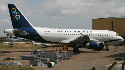 SX-OAK - Airbus A319-131 - Olympic Air