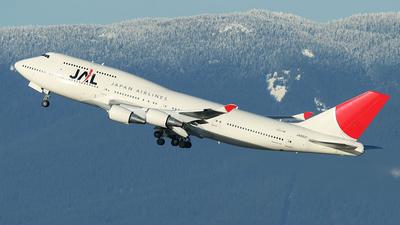 JA8921 - Boeing 747-446 - Japan Airlines (JAL)