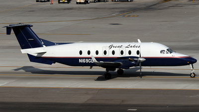 N169GL - Beech 1900D - Great Lakes Airlines