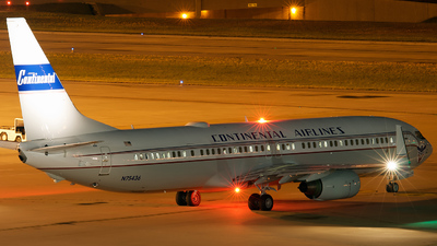 N75436 - Boeing 737-924ER - Continental Airlines