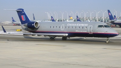 N674BR - Bombardier CRJ-200ER - United Express (Atlantic Coast Airlines)