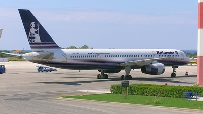 G-BYAY - Boeing 757-204 - Britannia Airways