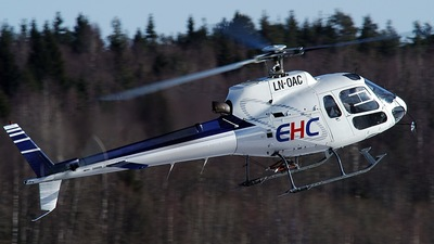 LN-OAC - Eurocopter AS 350B2 Ecureuil - European Helicopter Center (EHC)