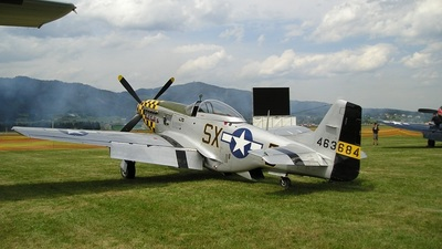 N51EA - North American P-51D Mustang - Private