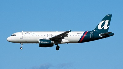 N941LF - Airbus A320-233 - airTran Airways (Ryan International Airlines)
