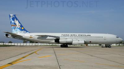 8747 - Boeing 707-384C - Venezuela - Air Force