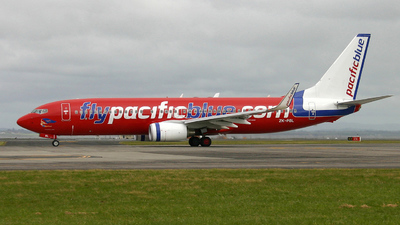 ZK-PBL - Boeing 737-8FE - Pacific Blue Airlines