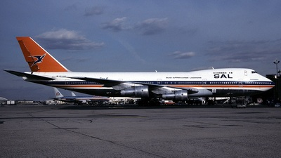ZS-SAM - Boeing 747-244B - South African Airways