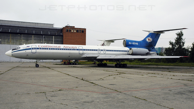 RA-85146 - Tupolev Tu-154M - Continental Airways