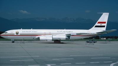 SU-AXJ - Boeing 707-366C - Egypt - Air Force