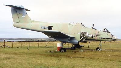 A-517 - FMA IA-58A Pucará - Argentina - Air Force
