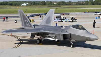 02-4034 - Lockheed Martin F-22A Raptor - United States - US Air Force (USAF)