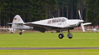 D-EBEI - Messerschmitt Me 108 Taifun - Deutsche Lufthansa Berlin-Stiftung (DLBS)