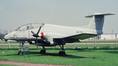 AX-01 - FMA IA-58A Pucará - Argentina - Air Force