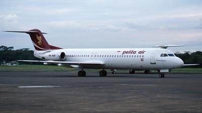 PK-PJO - Fokker 100 - Pelita Air