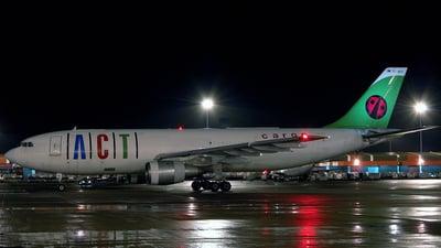 TC-ACC - Airbus A300B4-203(F) - ACT Airlines