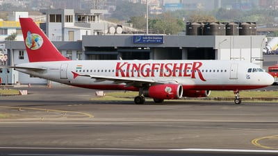 VT-ADW - Airbus A320-232 - Kingfisher Airlines