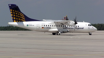 D-BSSS - ATR 42-500 - Lufthansa Regional (Contact Air)