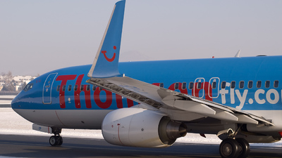 G-FDZP - Boeing 737-8K5 - Thomson Airways